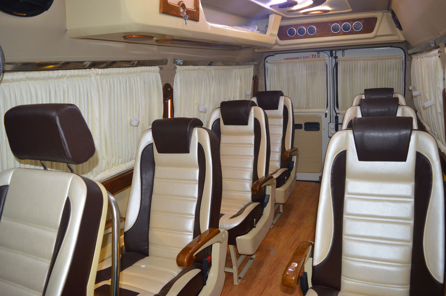 Book Tempo Traveller 13 Seater in Jammu Kashmir